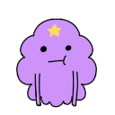 Lumpy Space Princess shimeji preview