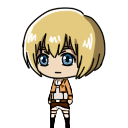 Armin Arlert shimeji preview