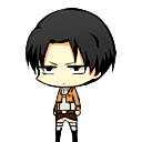 Levi Ackerman shimeji preview