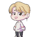 Jimin shimeji preview