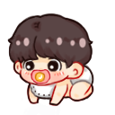 Jungkook - Kookie [baby] shimeji preview