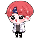 V - TaeTae [not today] shimeji preview
