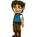 Flynn Rider shimeji preview