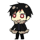 Izaya Orihara shimeji preview