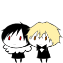 Shizuo and Izaya shimeji preview