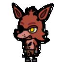 Foxy shimeji preview