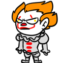 Pennywise shimeji preview