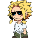 Toshinori Yagi (All Might) shimeji preview