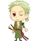 Zoro shimeji preview