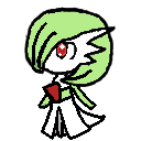 Gardevoir shimeji preview
