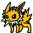 Jolteon shimeji preview