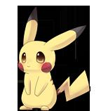 Pikachu shimeji preview