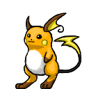 Raichu shimeji preview