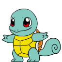 Squirtle shimeji preview