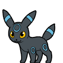 Umbreon Shiny shimeji preview