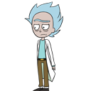 Rick shimeji preview