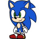 Sonic shimeji preview