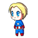 Captain America shimeji preview
