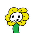 Flowey shimeji preview