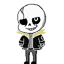 Gaster Sans shimeji preview