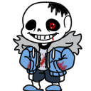 Horror Sans shimeji preview