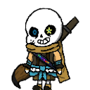 Ink Sans shimeji preview