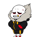 Underfell Sans shimeji preview