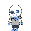 Underswap Sans shimeji preview